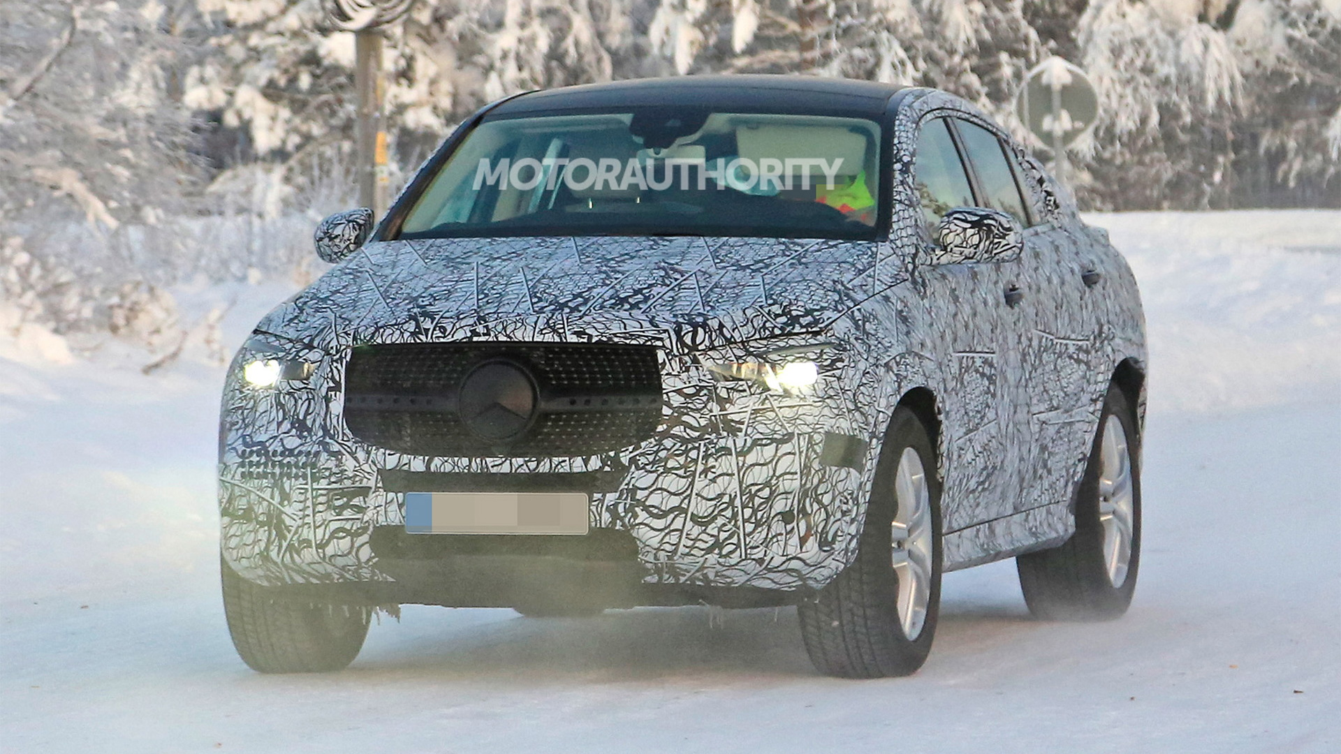 2020 Mercedes Benz Gle Coupe Spy Shots And Video