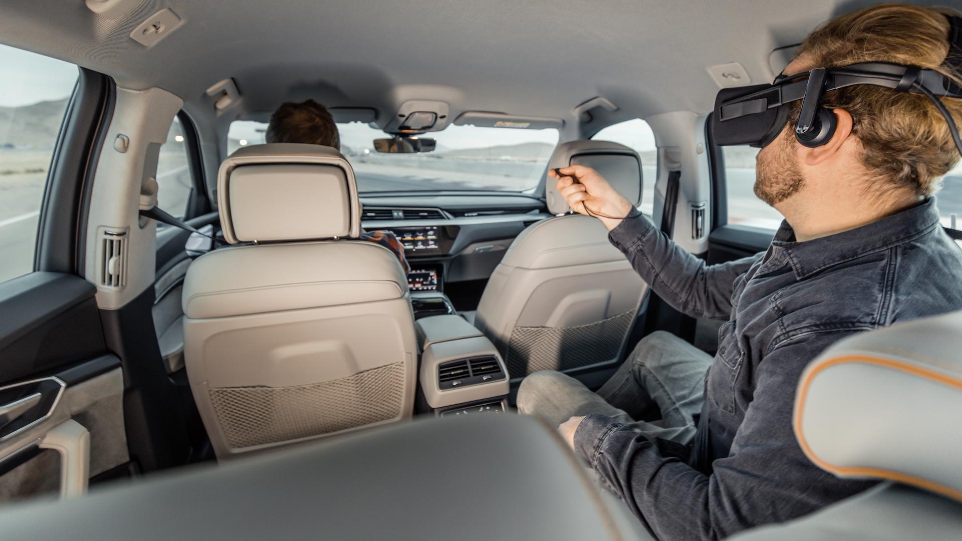 Audi virtual reality platform, 2019 CES