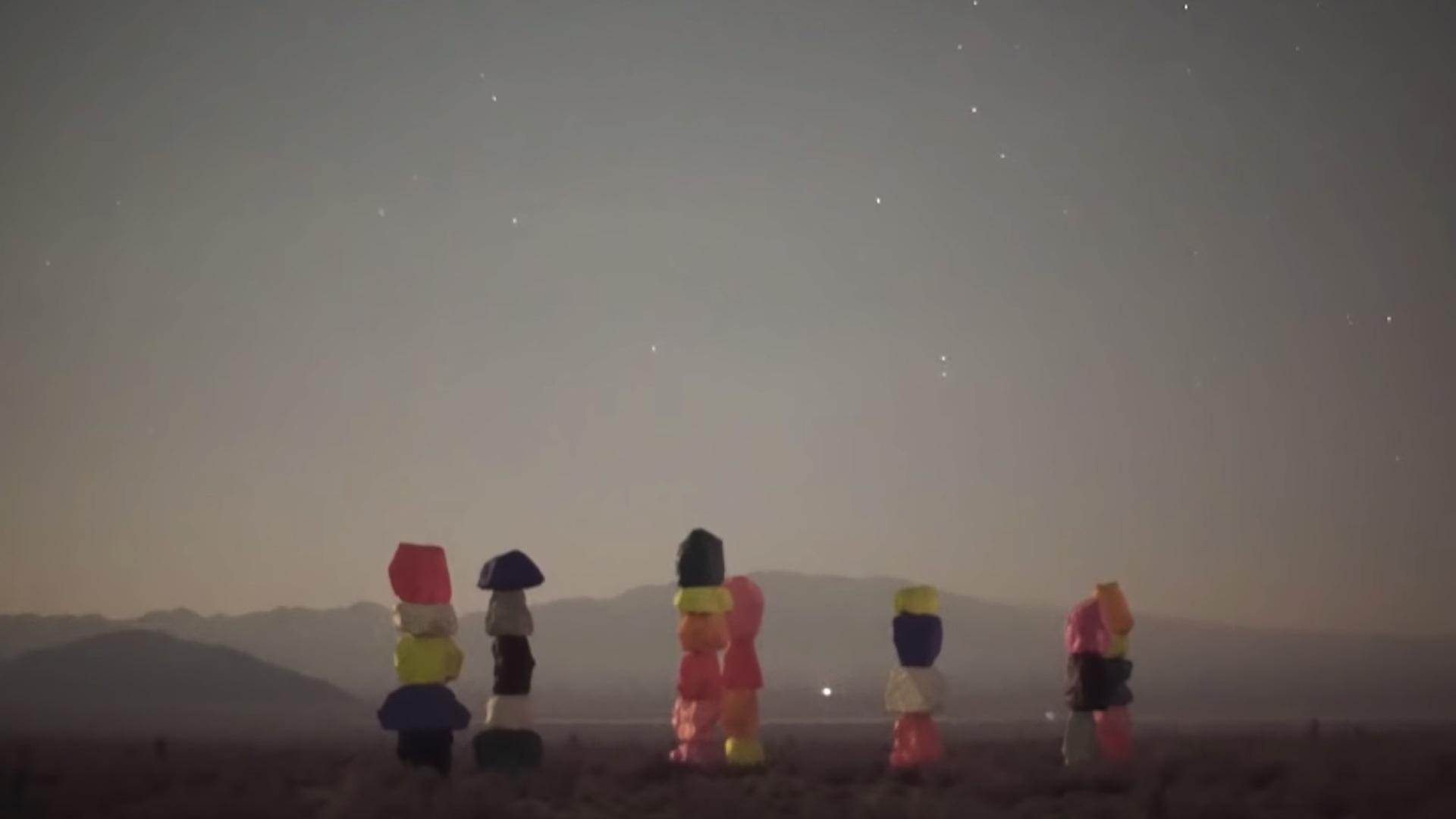 Color night vision taken at midnight