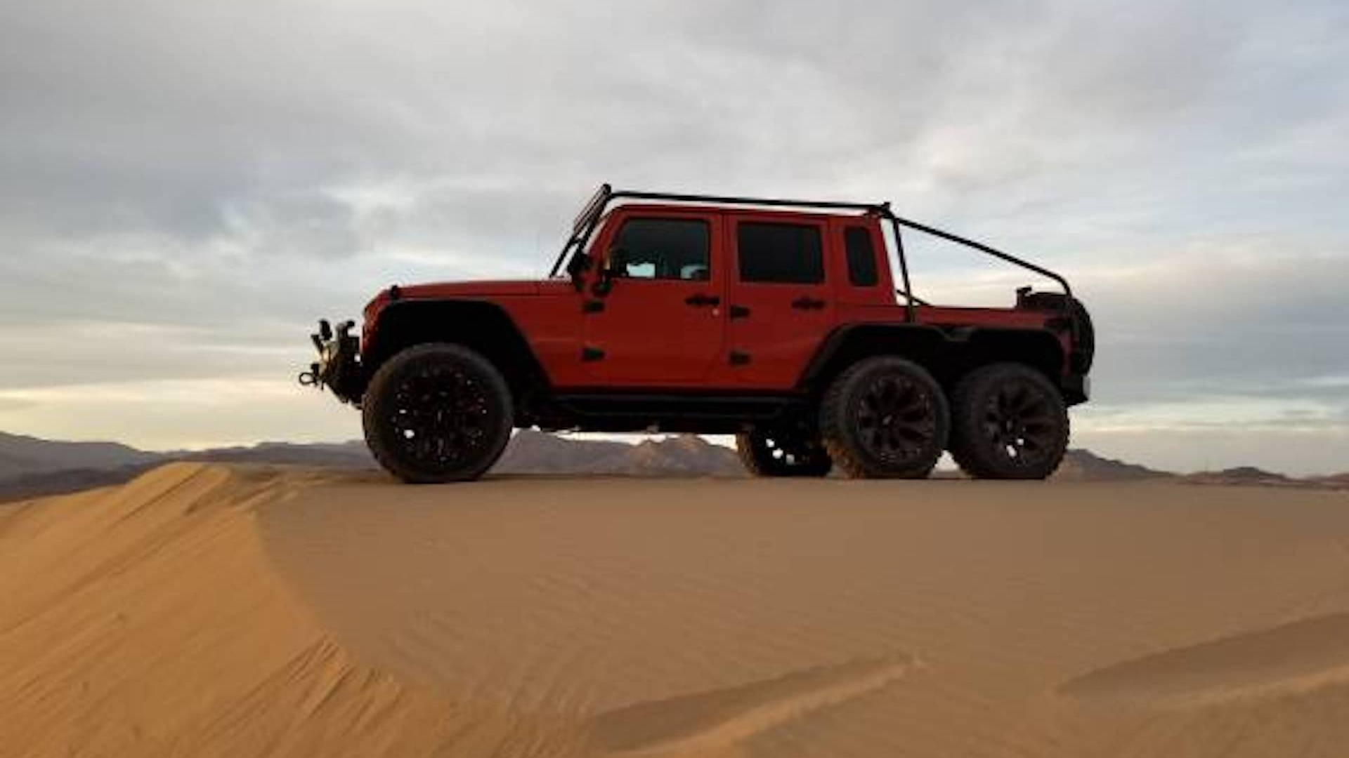 Jeep Wrangler 6x6 with Hellcat V-8 by Exotic Custom Motorsports