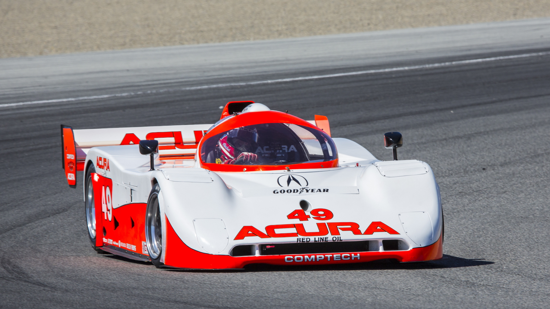 Comptech Racing Acura-Spice race car