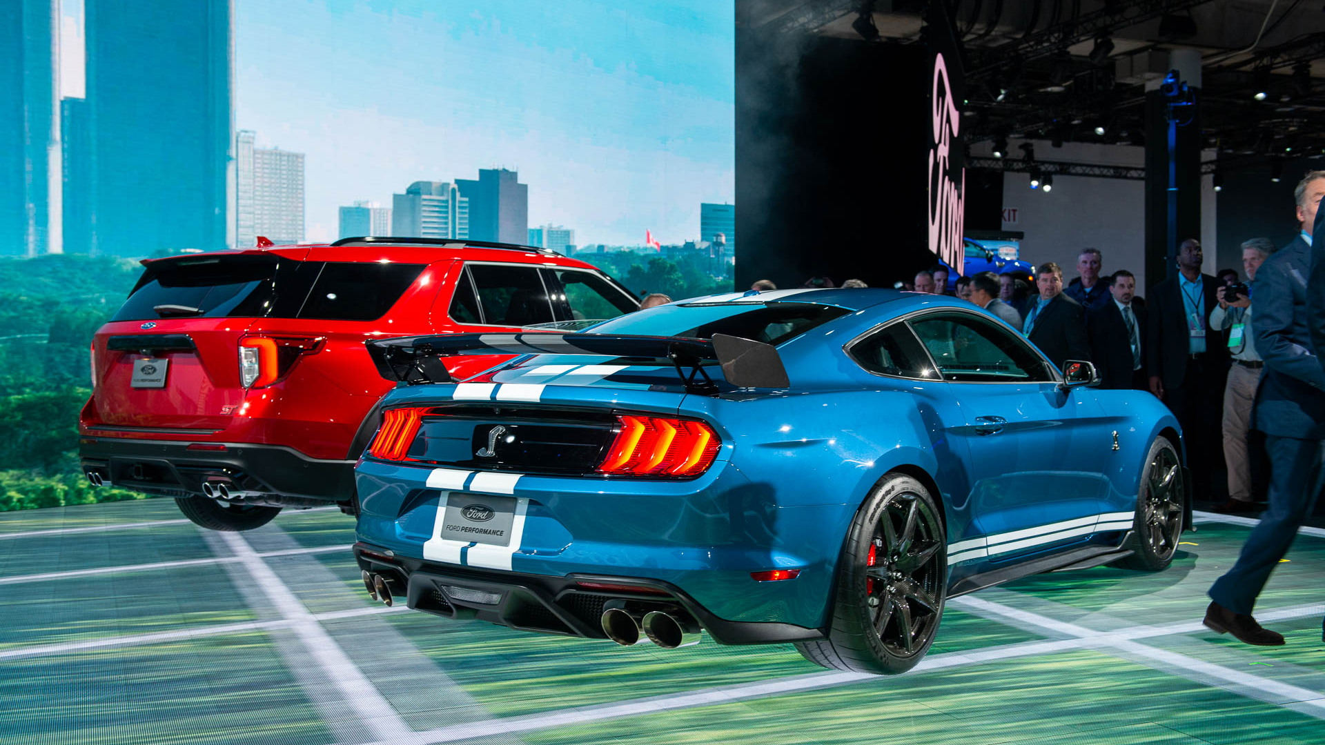 2020 ford mustang shelby gt500 2019 detroit auto show