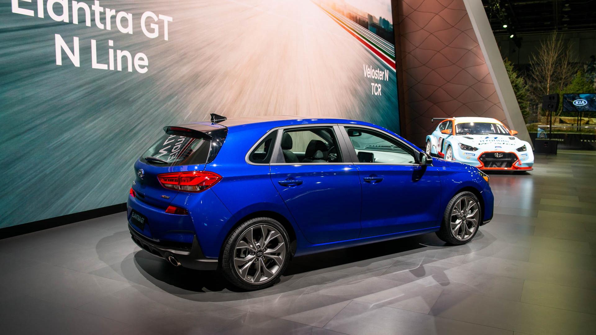 2019 Hyundai Elantra GT N Line, 2019 Detroit auto show