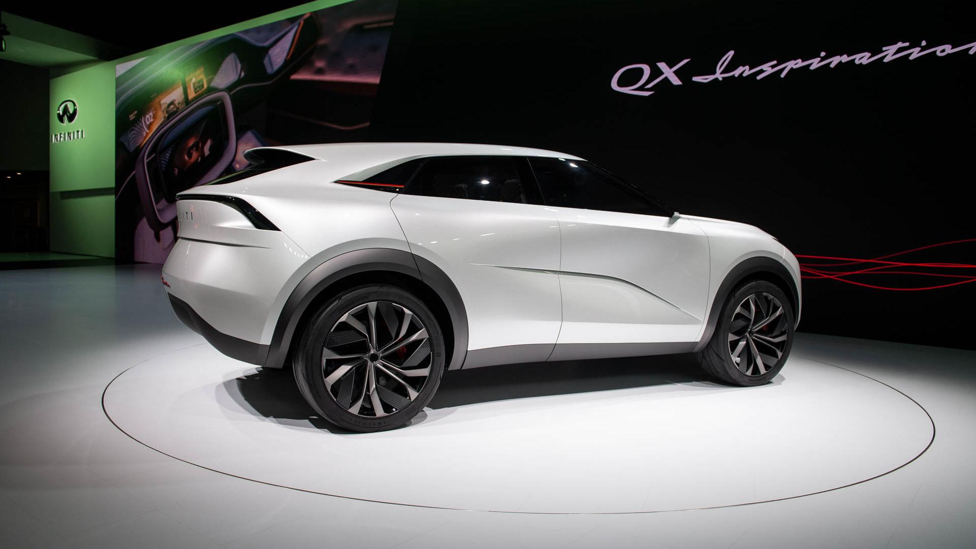 Infiniti QX Inspiration SUV concept, 2019 Detroit auto show