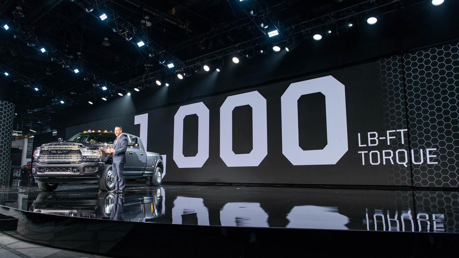 2019 Ram 2500, 2019 Detroit auto show