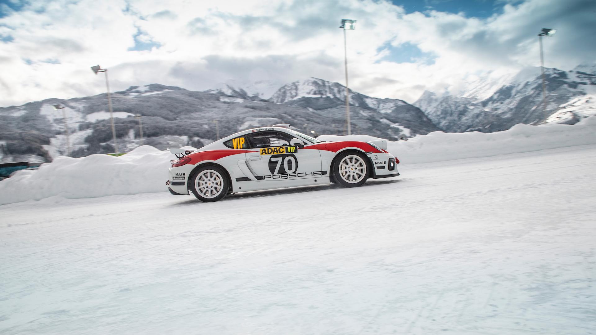 Porsche 718 Cayman rally car concept, Austria