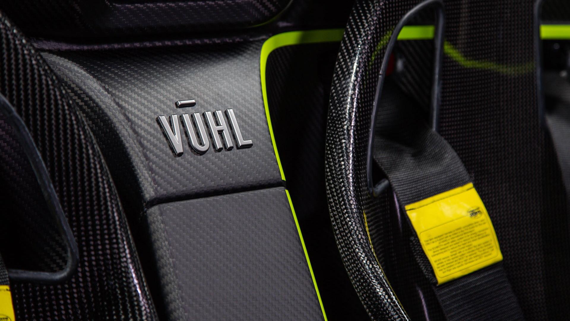 Vuhl 05RR sports car, 2019
