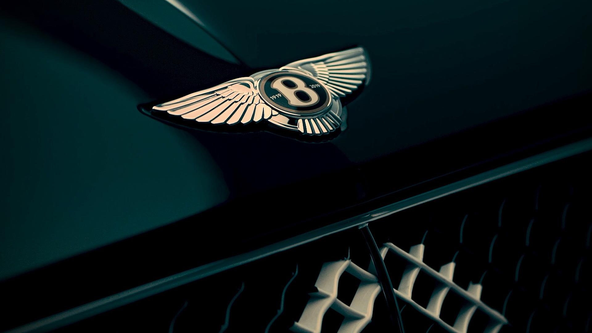 Teaser for special edition celebrating Bentley's centennial