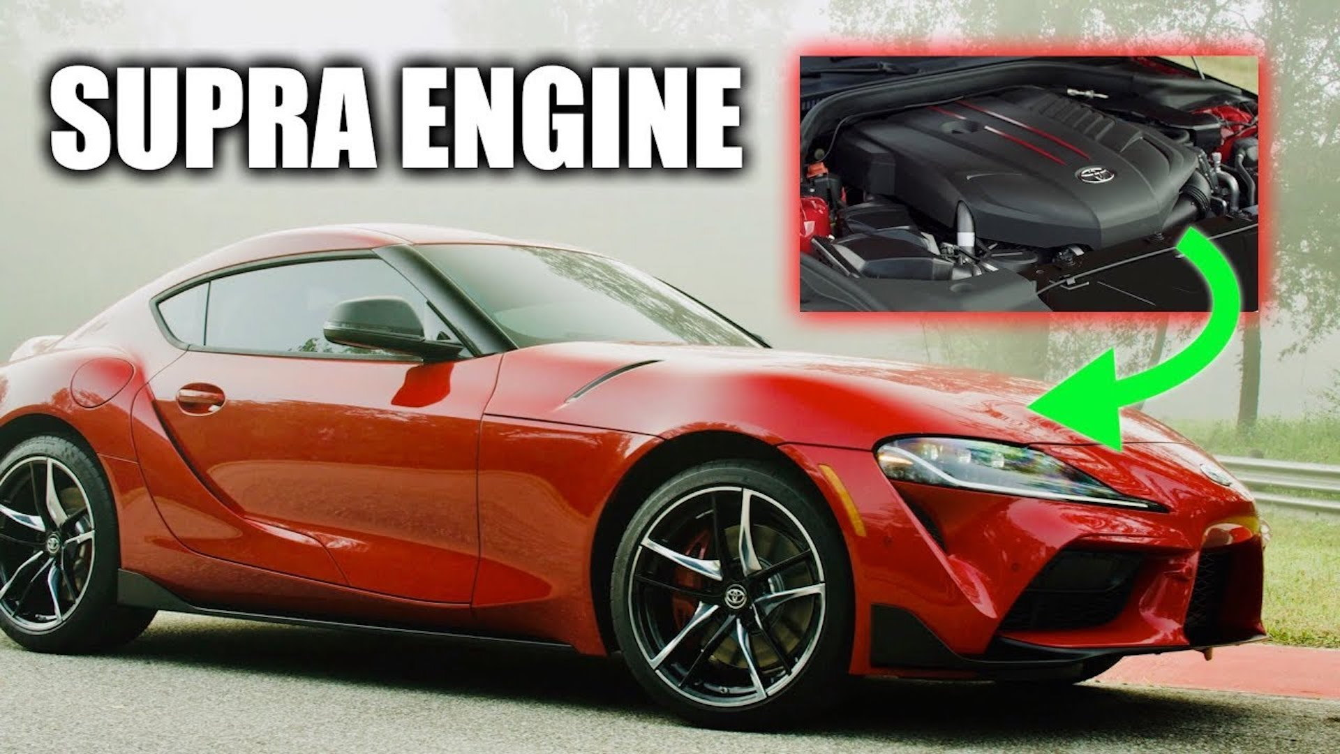 Toyota Supra engine deep dive, Engineering Explained