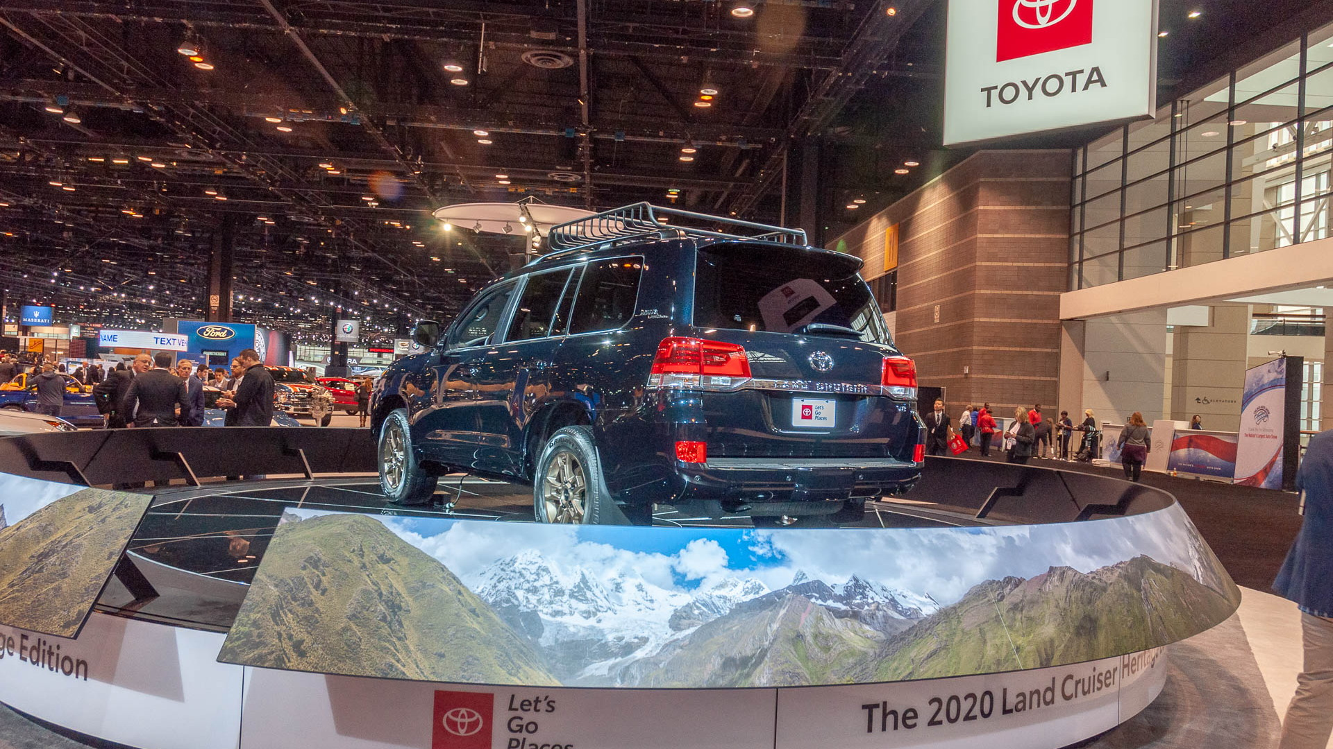 2020 Toyota Land Cruiser Heritage Edition, 2019 Chicago Auto Show