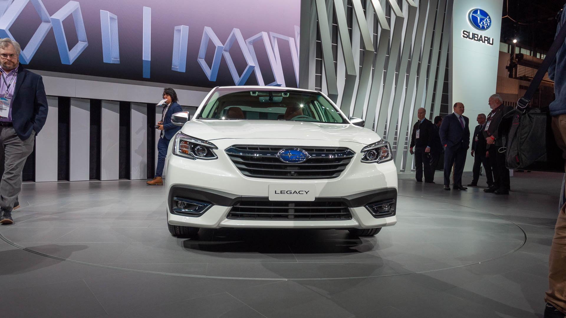 2020 Subaru Legacy, 2019 Chicago Auto Show