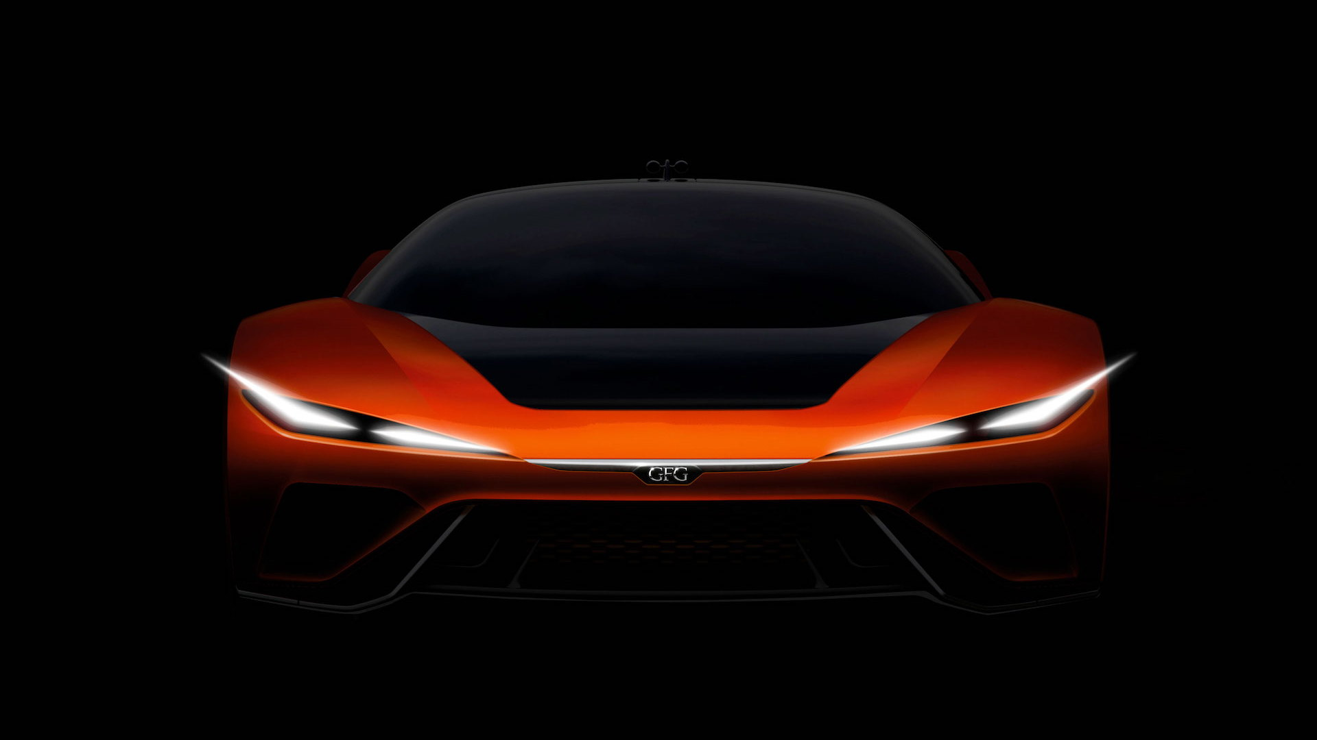 GFG Style Kangaroo electric hyper SUV concept teaser