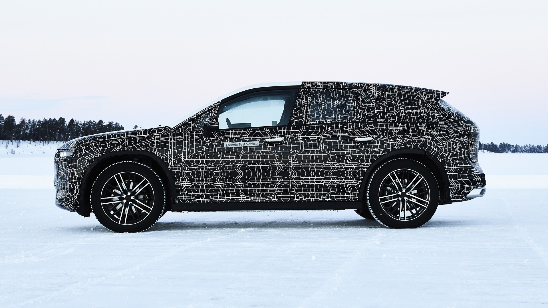 Prototype for BMW iNext electric SUV due in 2021