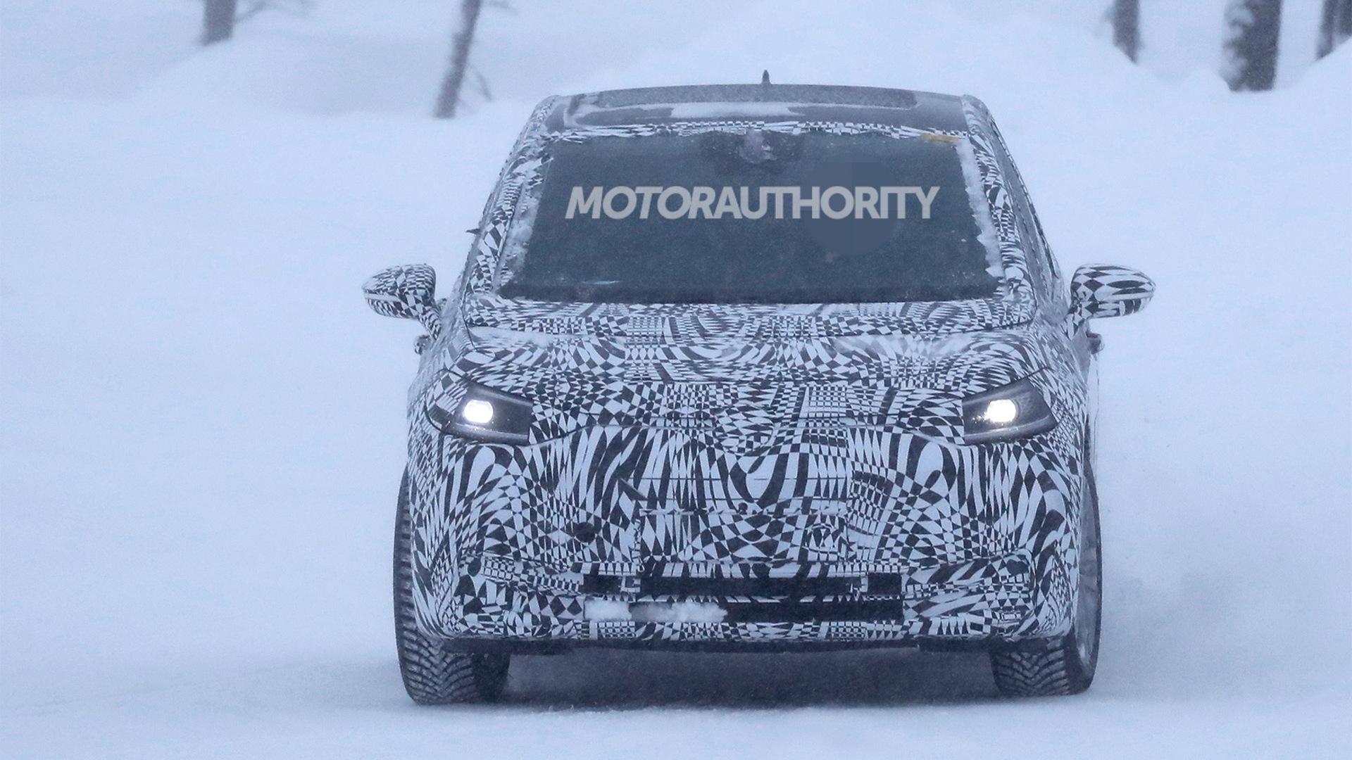 2020 Volkswagen ID Neo spy shots - Image via S. Baldauf/SB-Medien