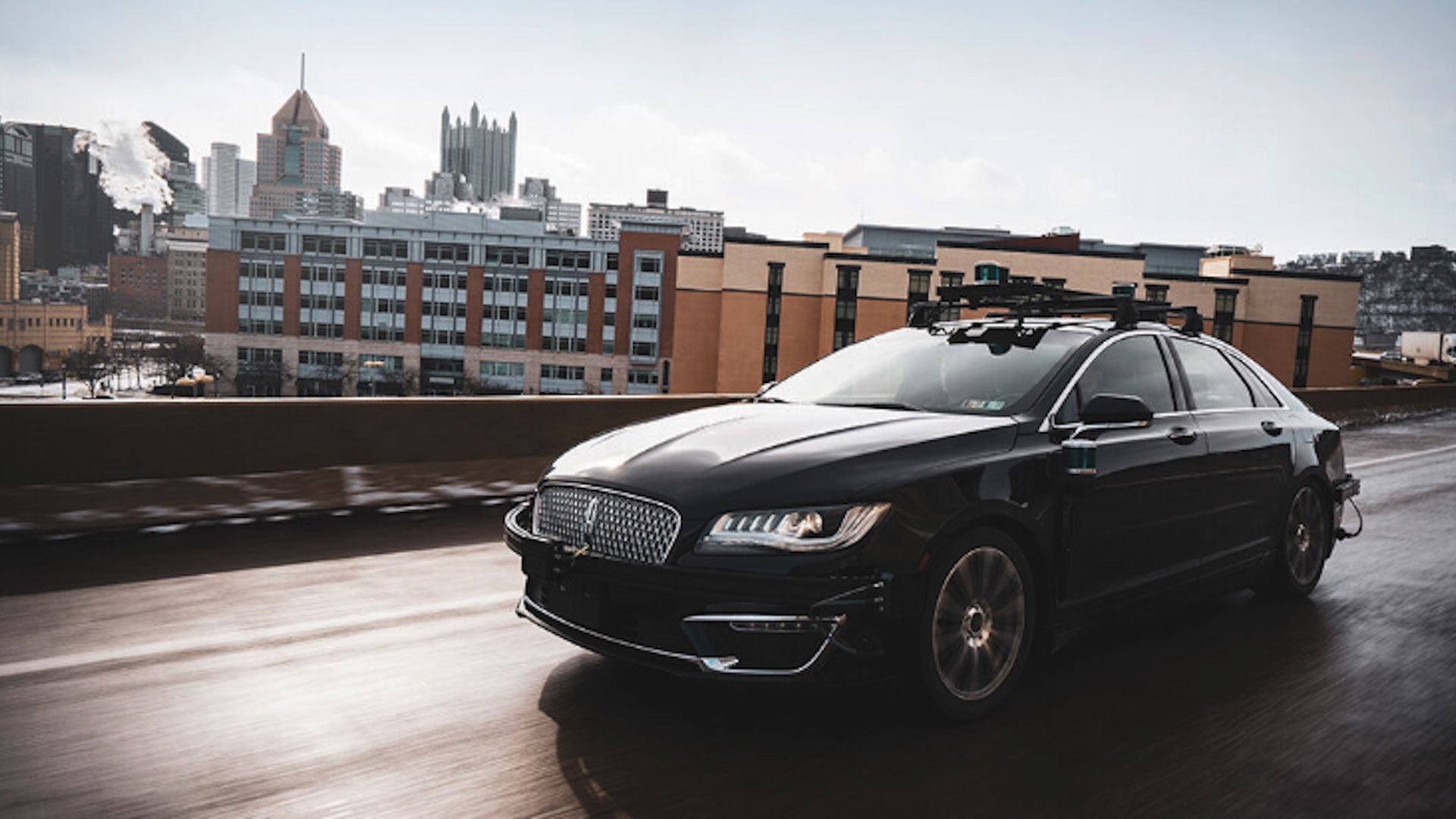 Aurora Innovation self-driving car prototype