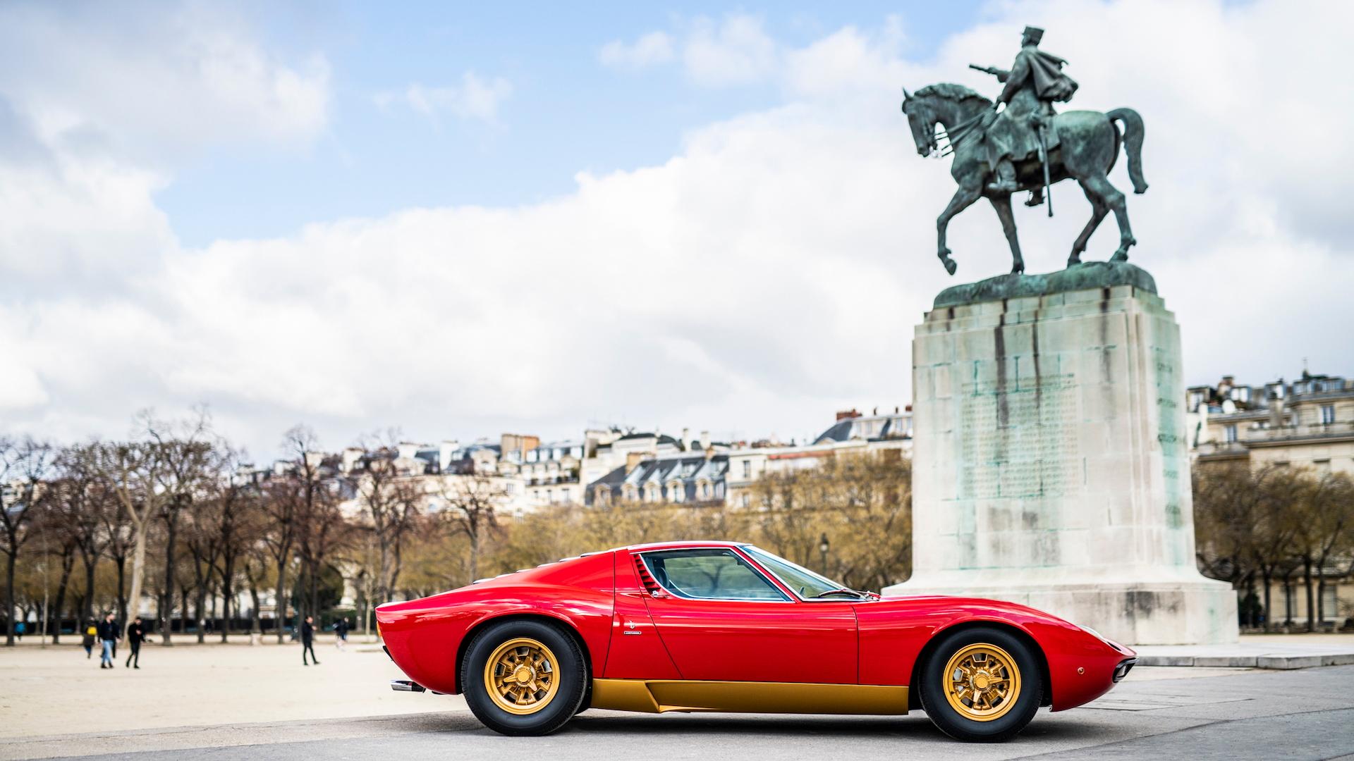 1972 Lamborghini Miura SV restored by Polo Storico