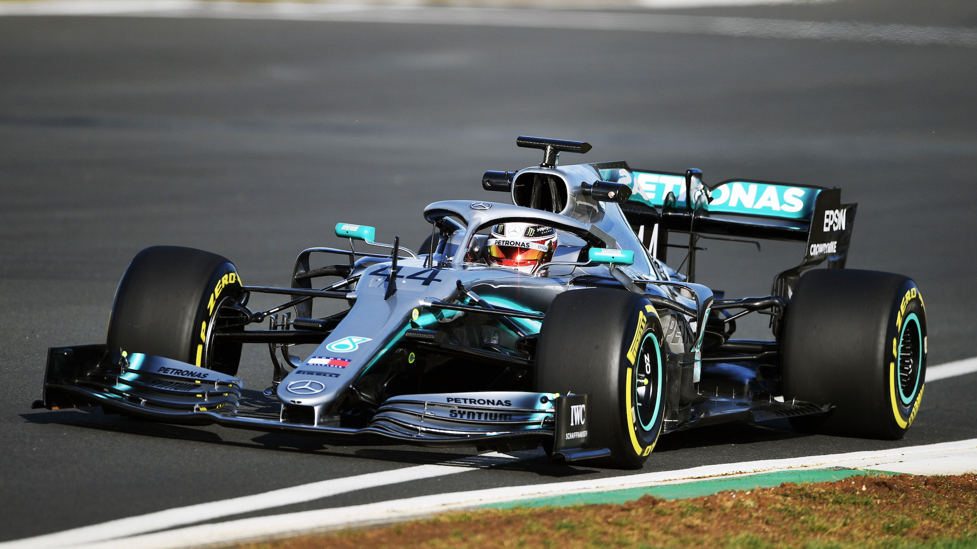2019 Mercedes-AMG W10 Formula 1 race car