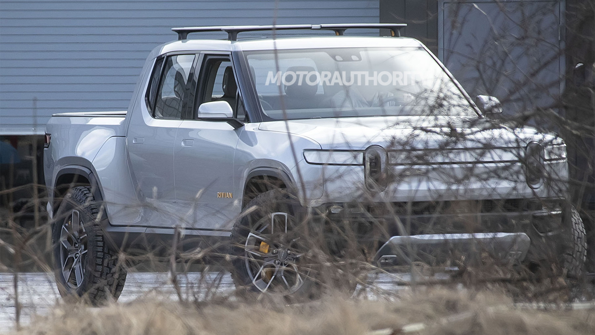 R1T at Rivian's headquarters in Plymouth, Michigan - Image via S. Baldauf/SB-Medien