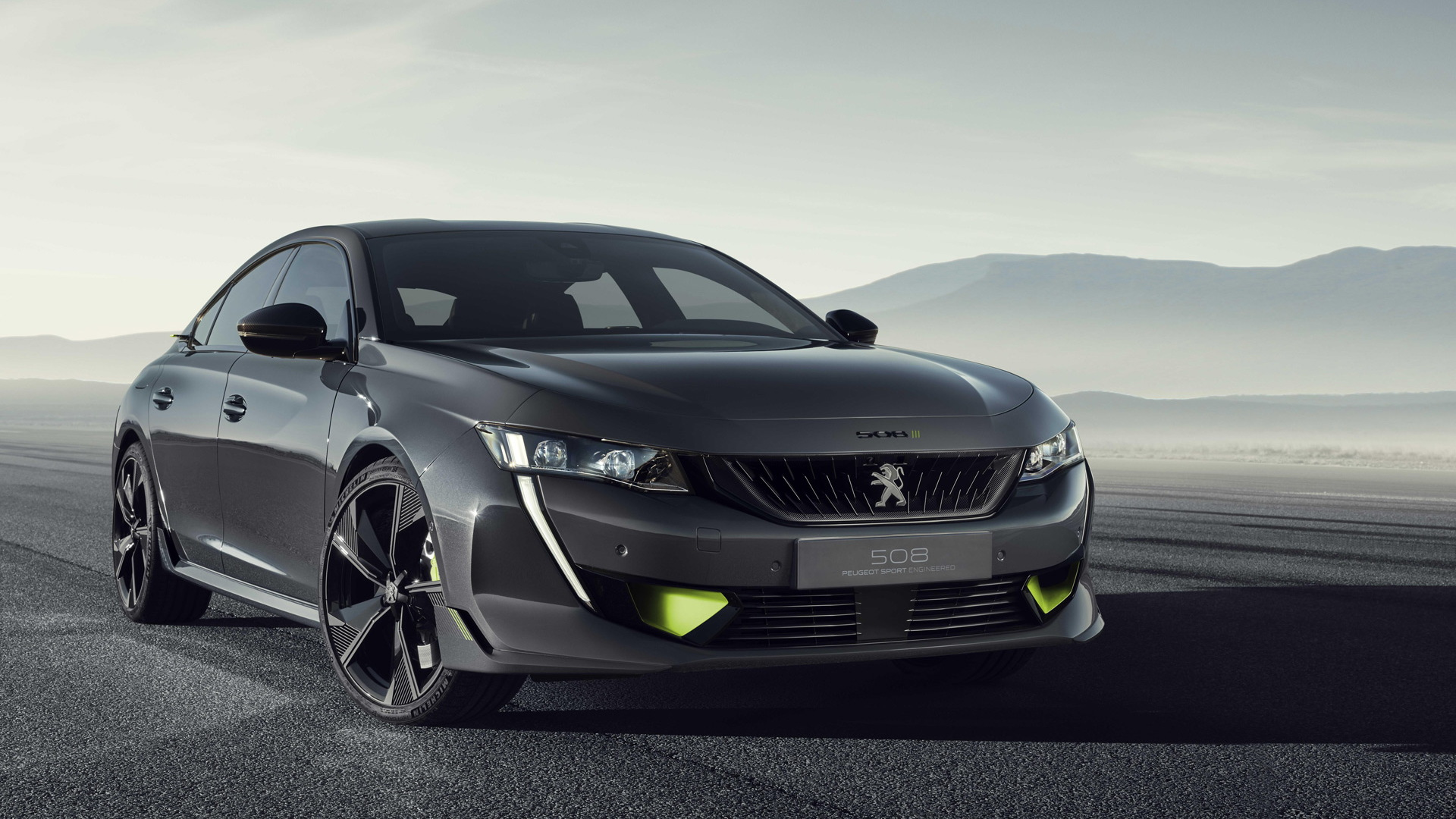 Peugeot 508 Peugeot Sport Engineered concept