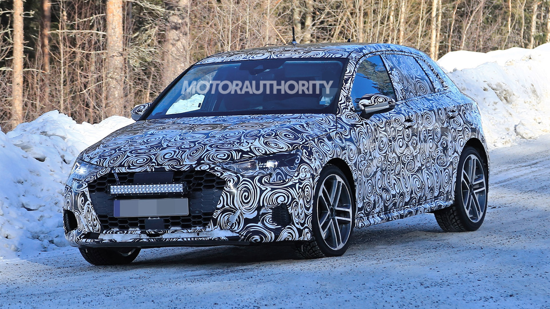 2021 Audi S3 Sportback spy shots - Image via S. Baldauf/SB-Medien