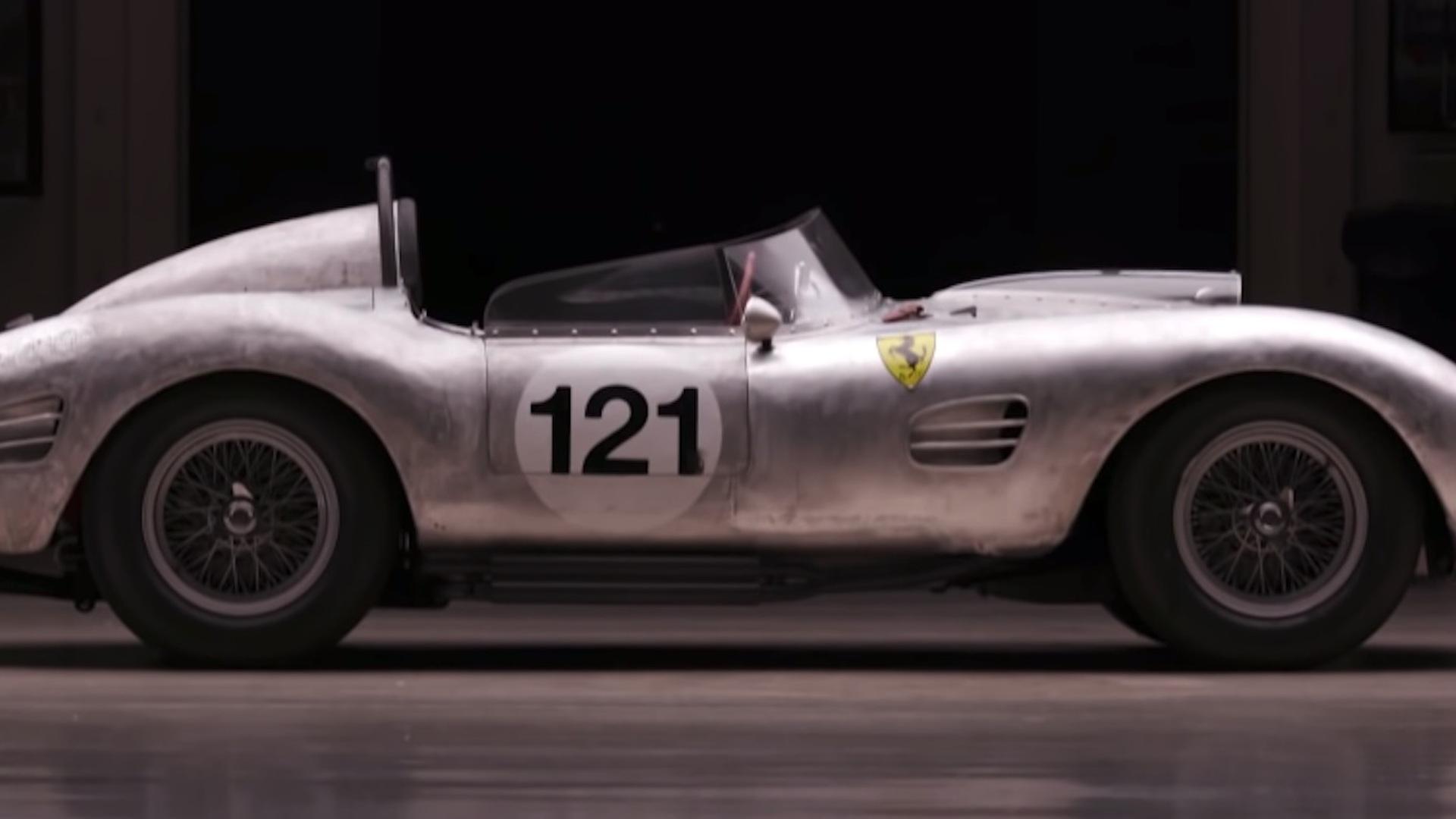 Ferrari 250 TR tribute car on Jay Leno's Garage