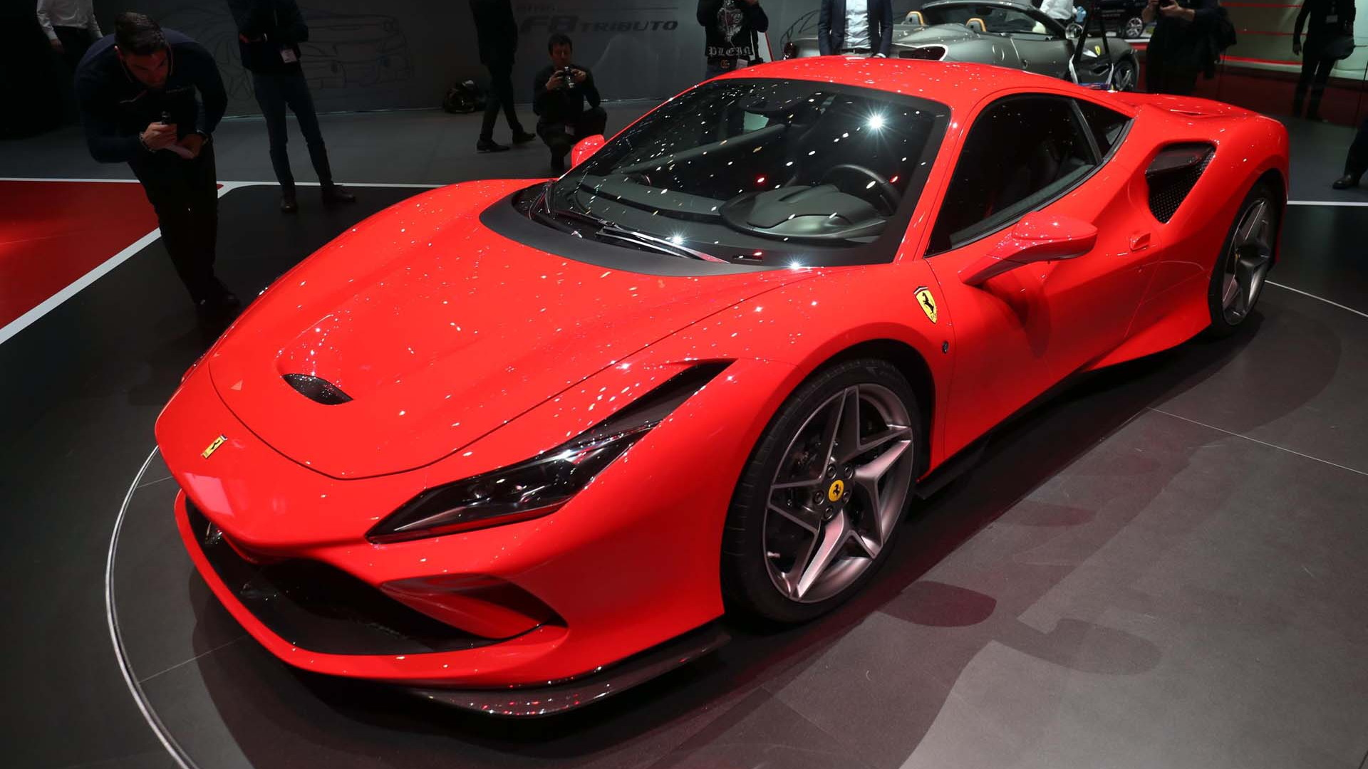 710 Horsepower Ferrari F8 Tributo Arrives To Replace The 488