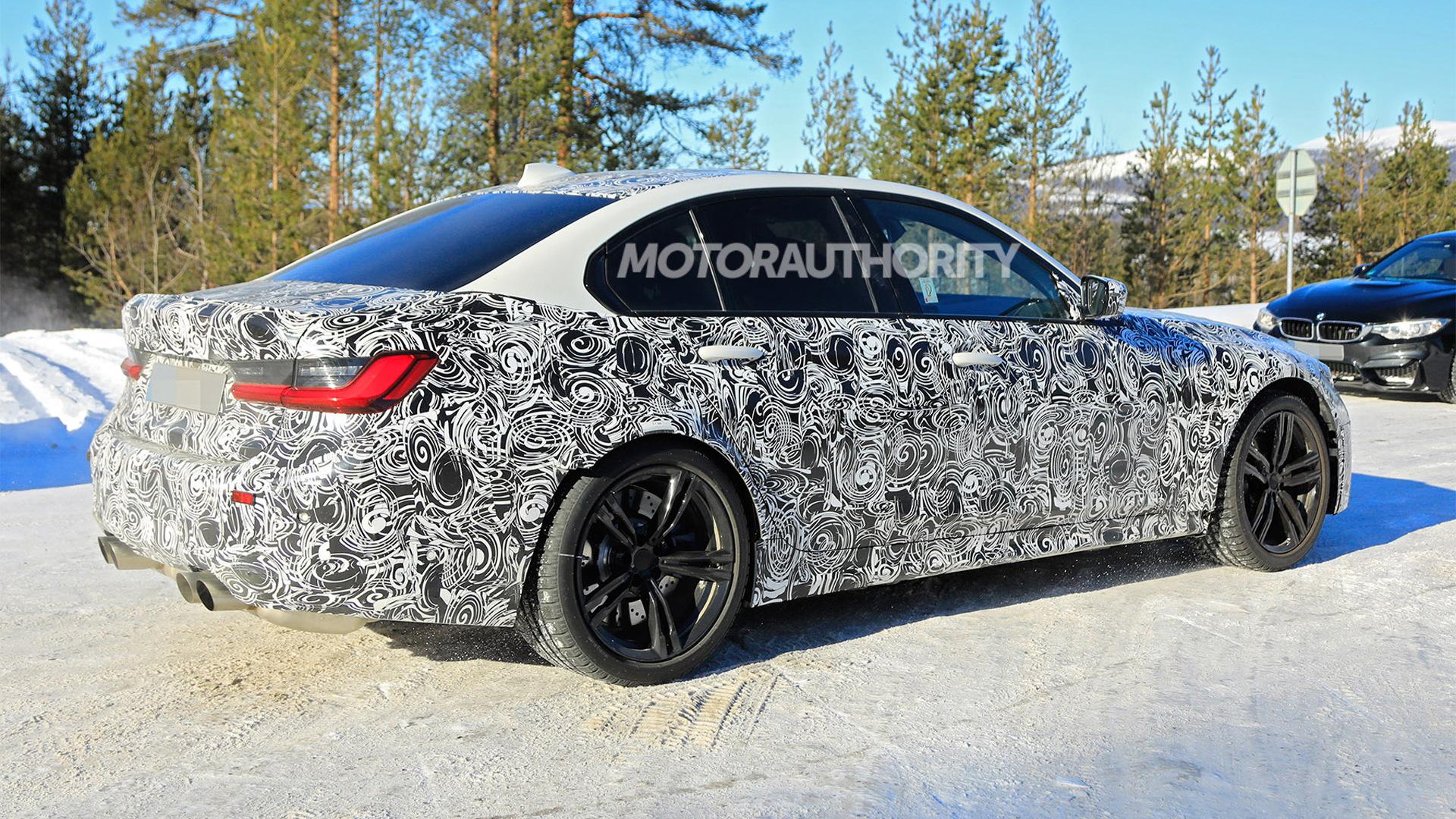 2020 BMW M3 spy shots - Image via S. Baldauf/SB-Medien