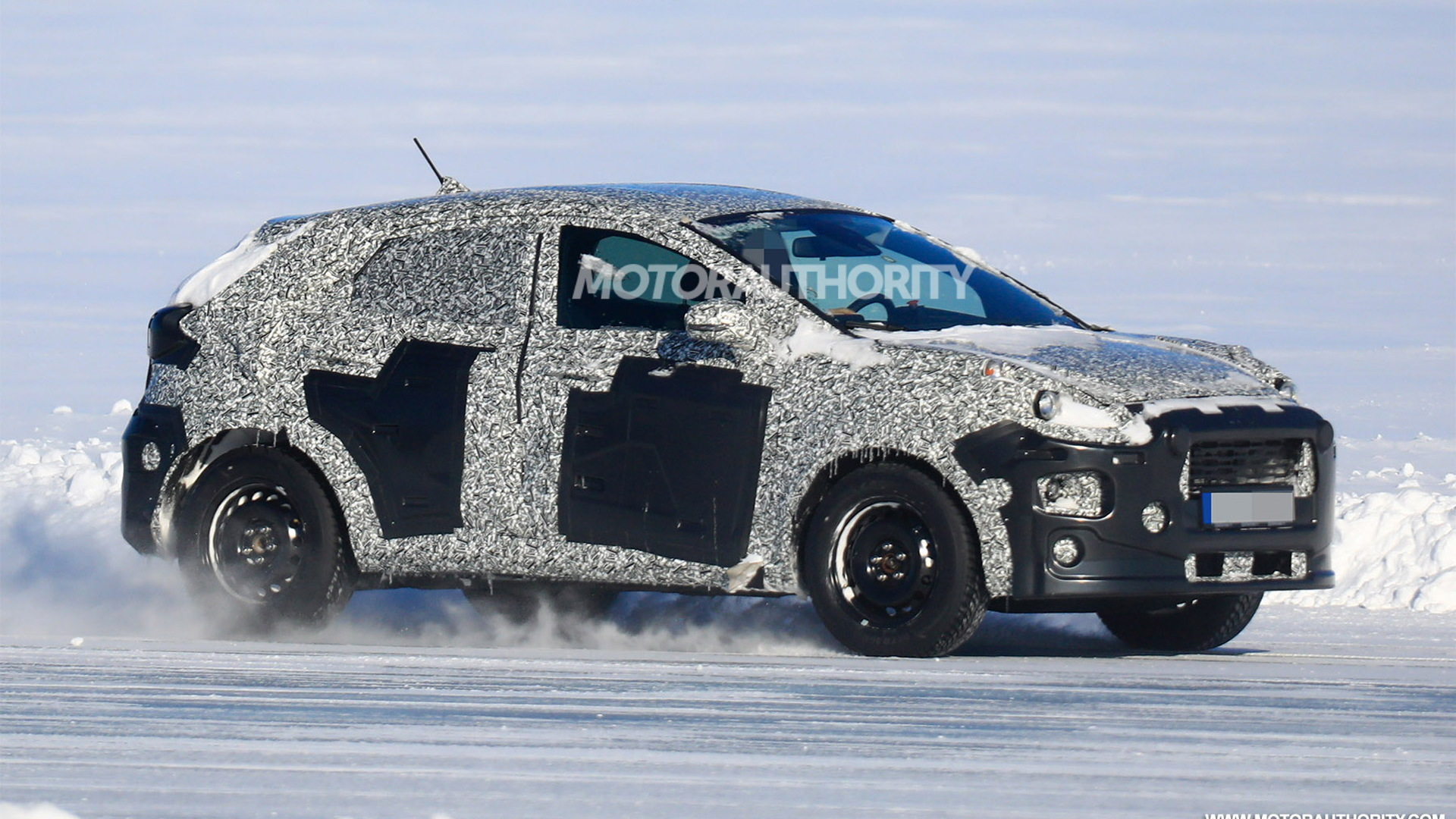 2022 Ford Ecosport replacement spy shots - Image via S. Baldauf/SB-Medien