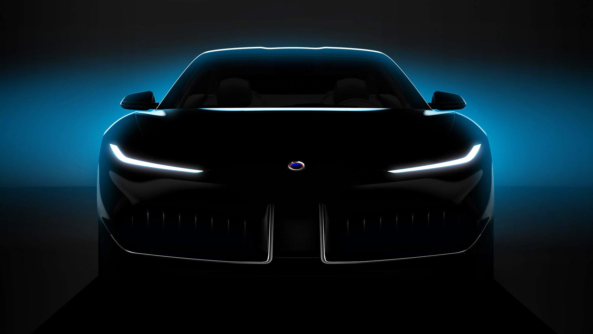 Teaser for Karma Pininfarina concept debuting at 2019 Shanghai auto show