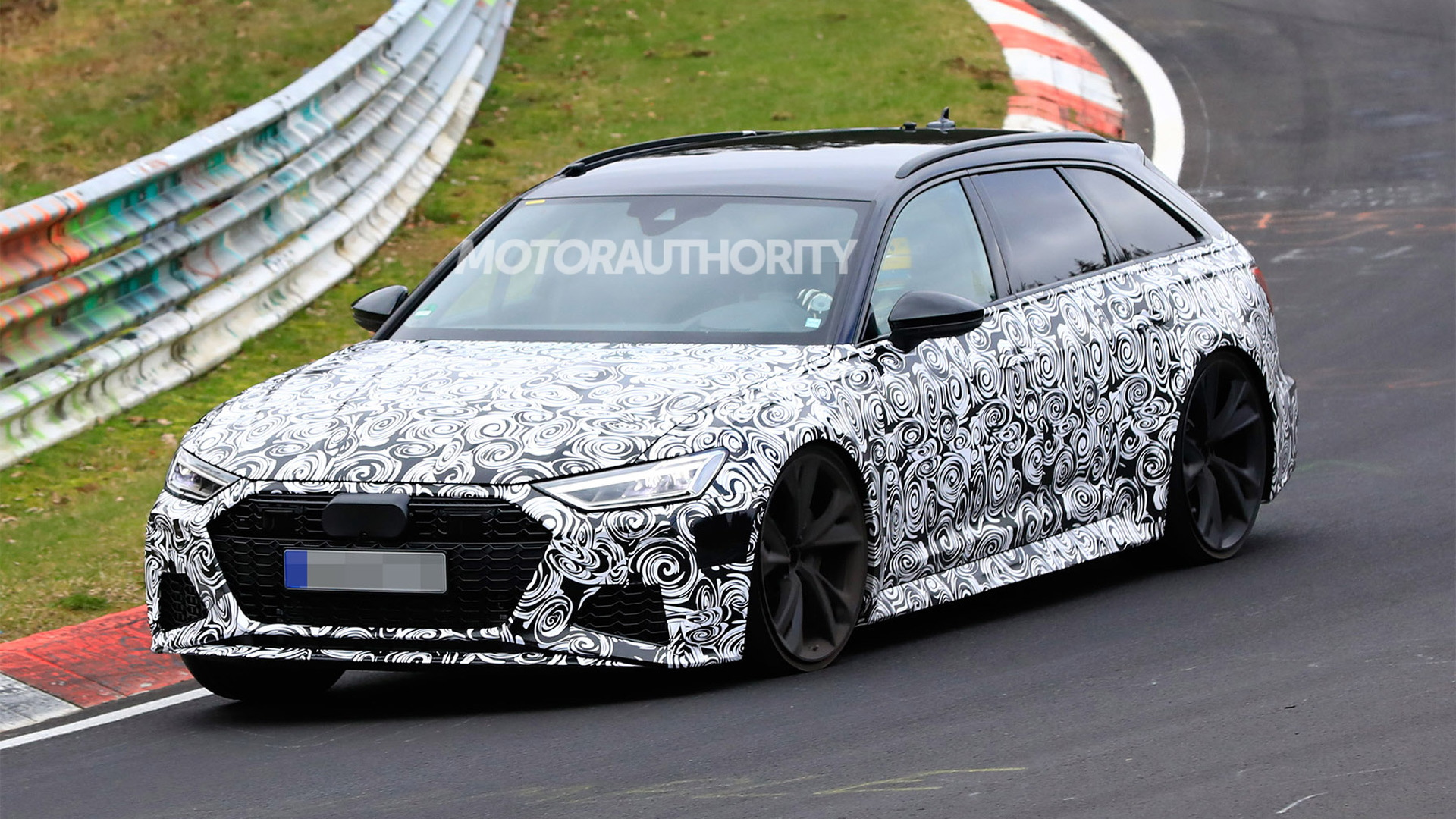 2020 Audi Rs 6 Avant Spy Shots And Video
