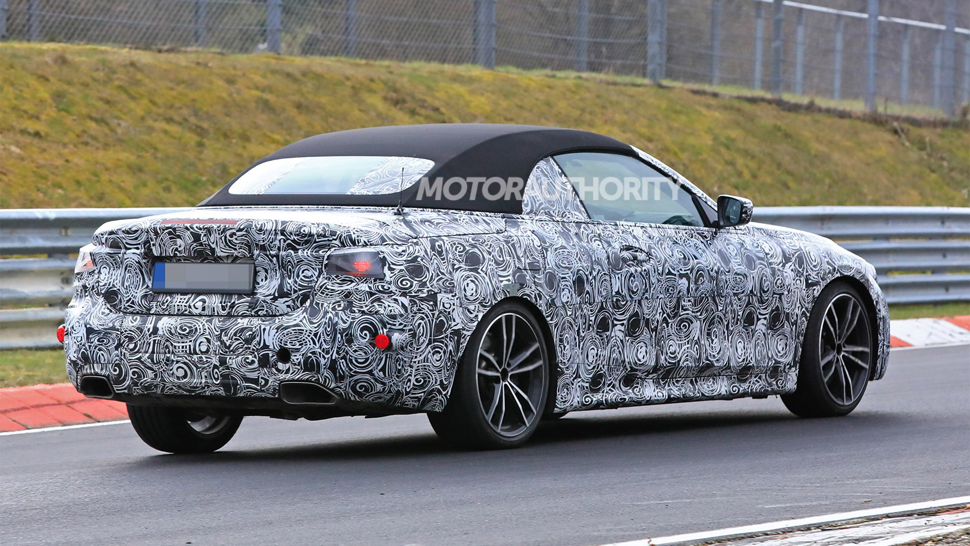 2021 bmw 4series convertible spy shots