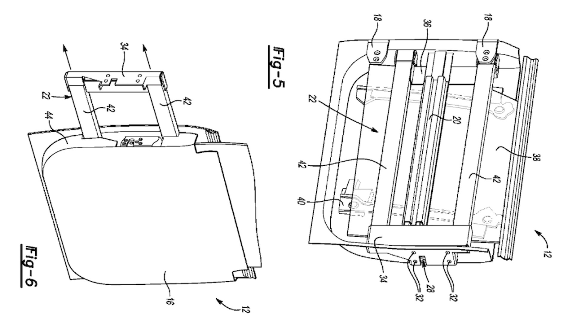 Potential Ford Bronco removable door patent