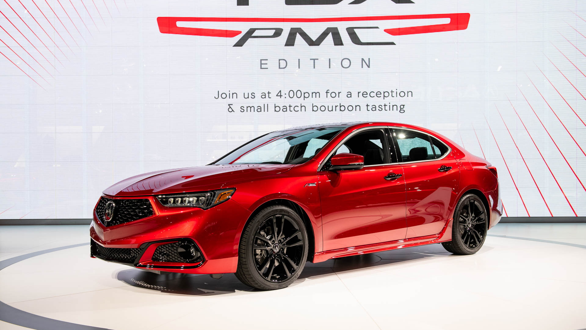 2020 Acura TLX PMC edition, 2019 New York International Auto Show