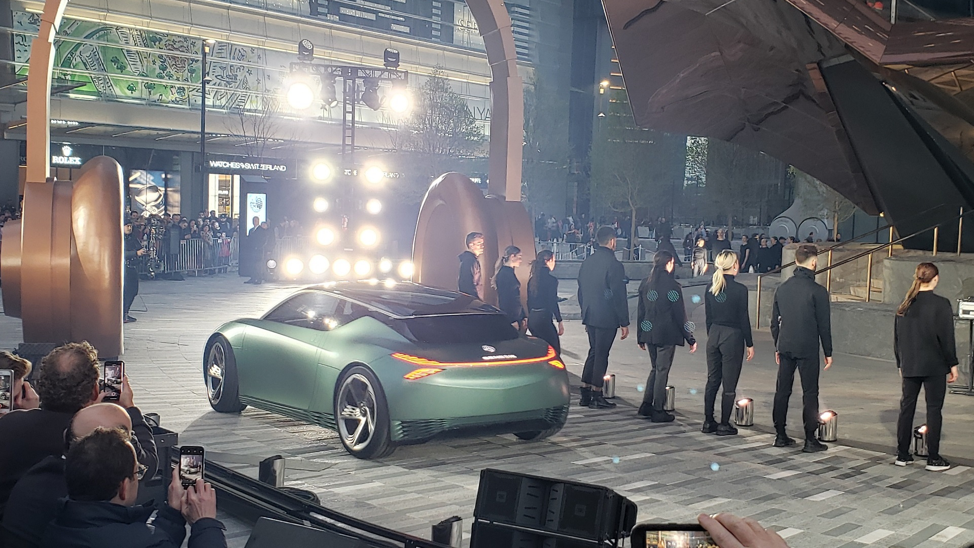 Genesis Mint Concept debut, Hudson Yards, NYC - 2019 New York auto show
