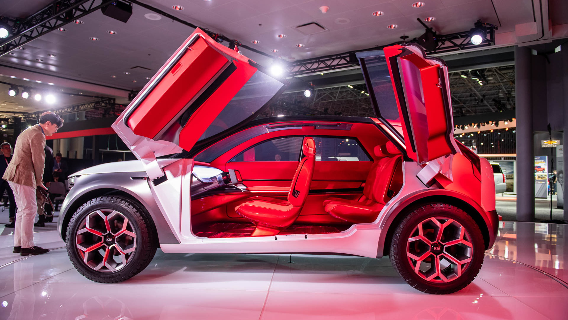 Kia Habaniro Concept, 2019 New York International Auto Show