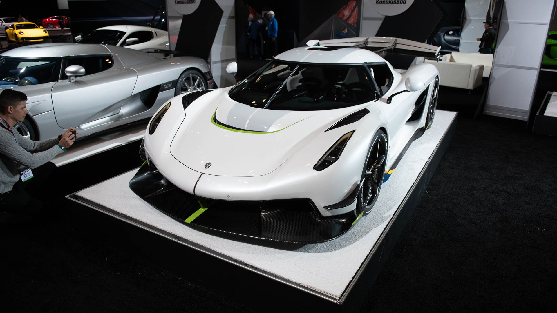 Koenigsegg Jesko, 2019 New York International Auto Show