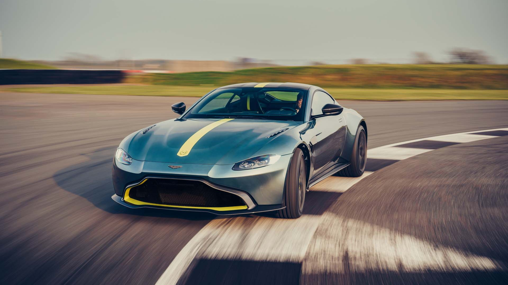 Aston Martin gives Vantage AMR a stick shift for serious driving enthusiasts