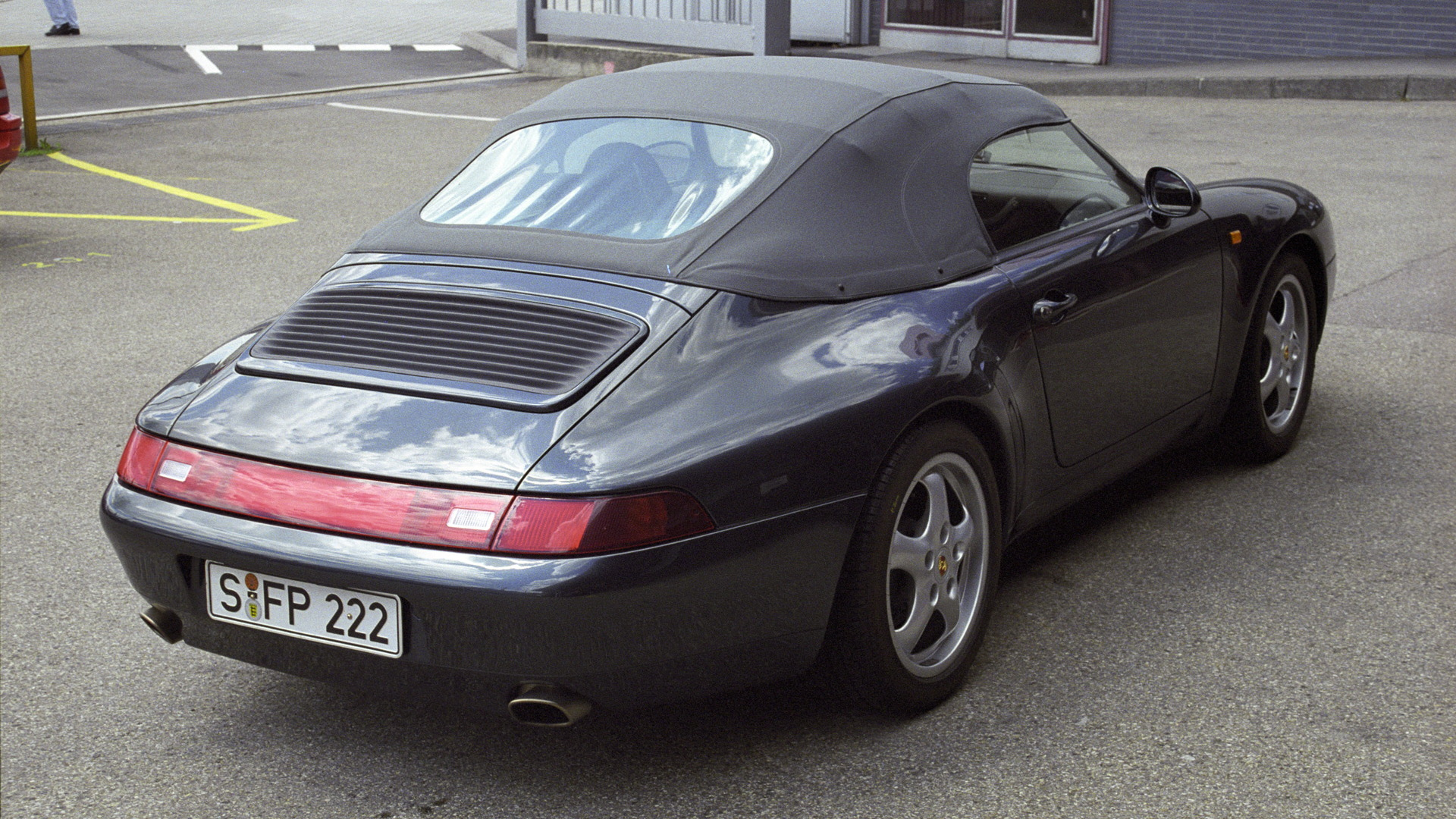 1995 Porsche 911 Carrera 3.6 Speedster