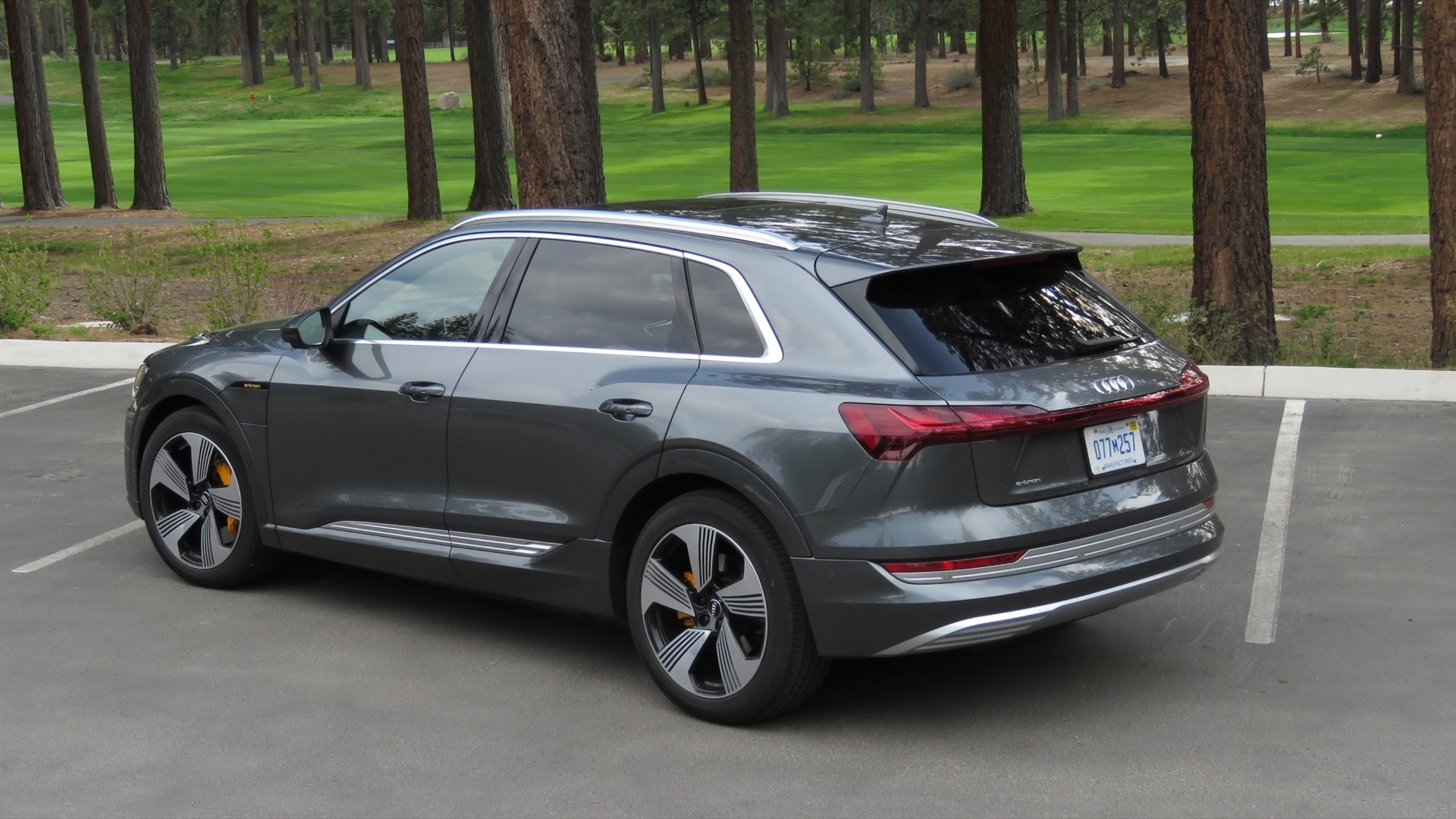 2019 Audi E-tron  -  first drive report  -  Calirornia, May 2019