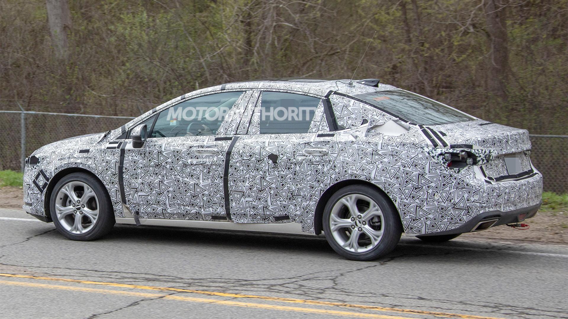 2020 Buick Verano facelift spy shots - Image via S. Baldauf/SB-Medien