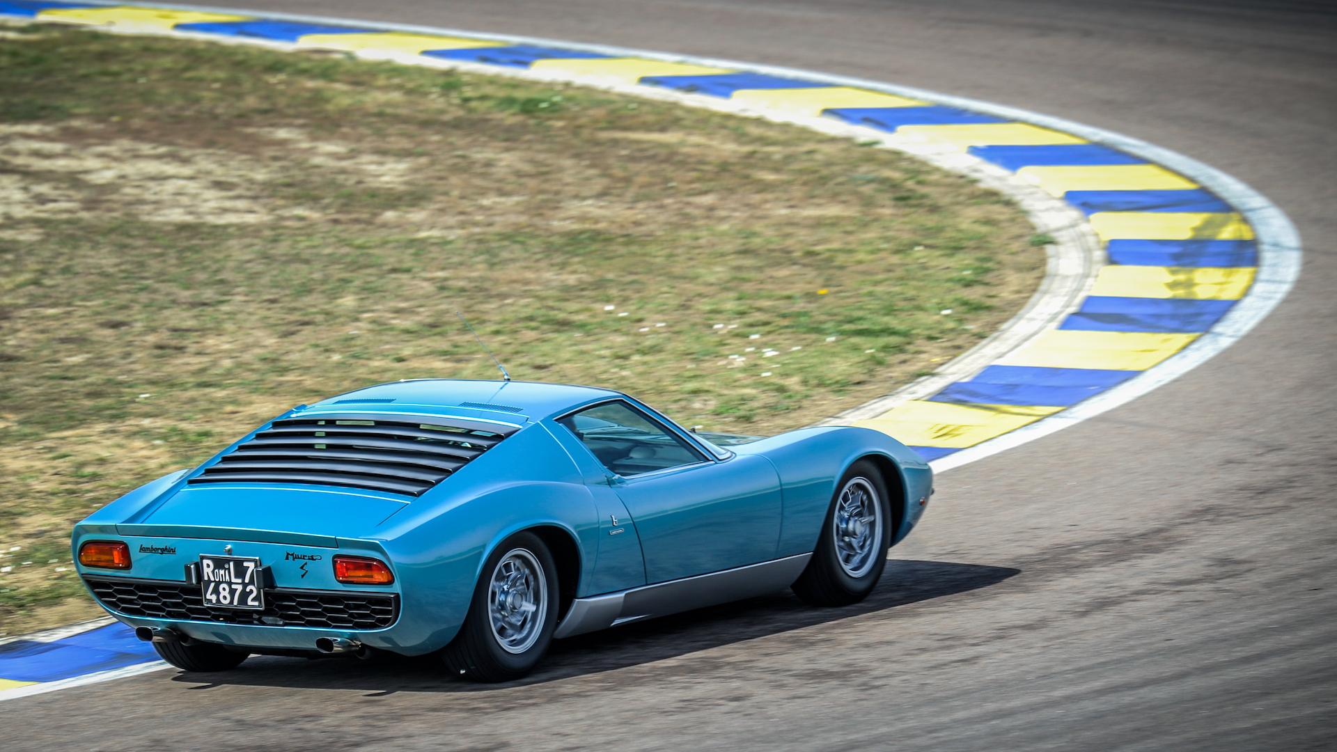1971 Lamborghini Miura P400 S Polo Storico restoration