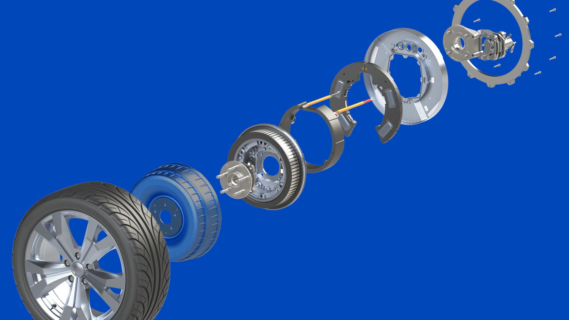 Protean in-wheel electric motor