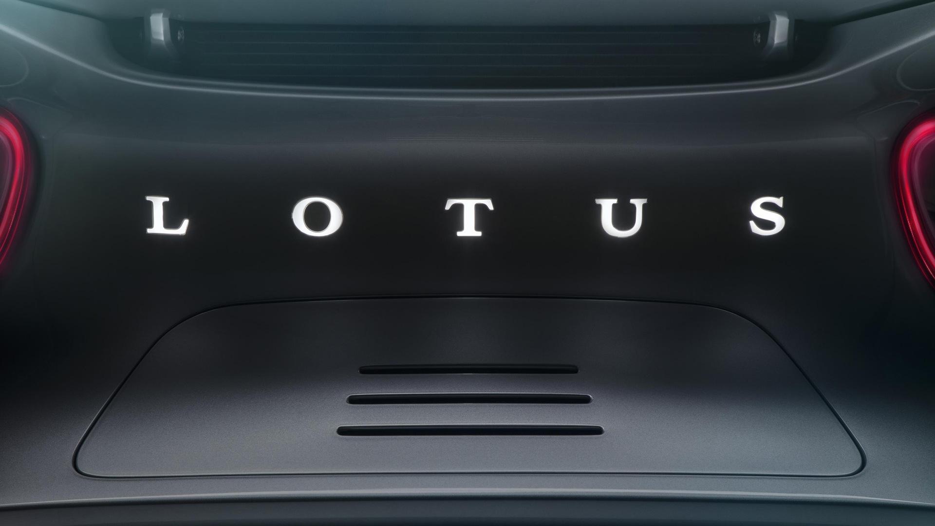 Teaser for Lotus Type 130 electric hypercar debuting on July 16, 2019
