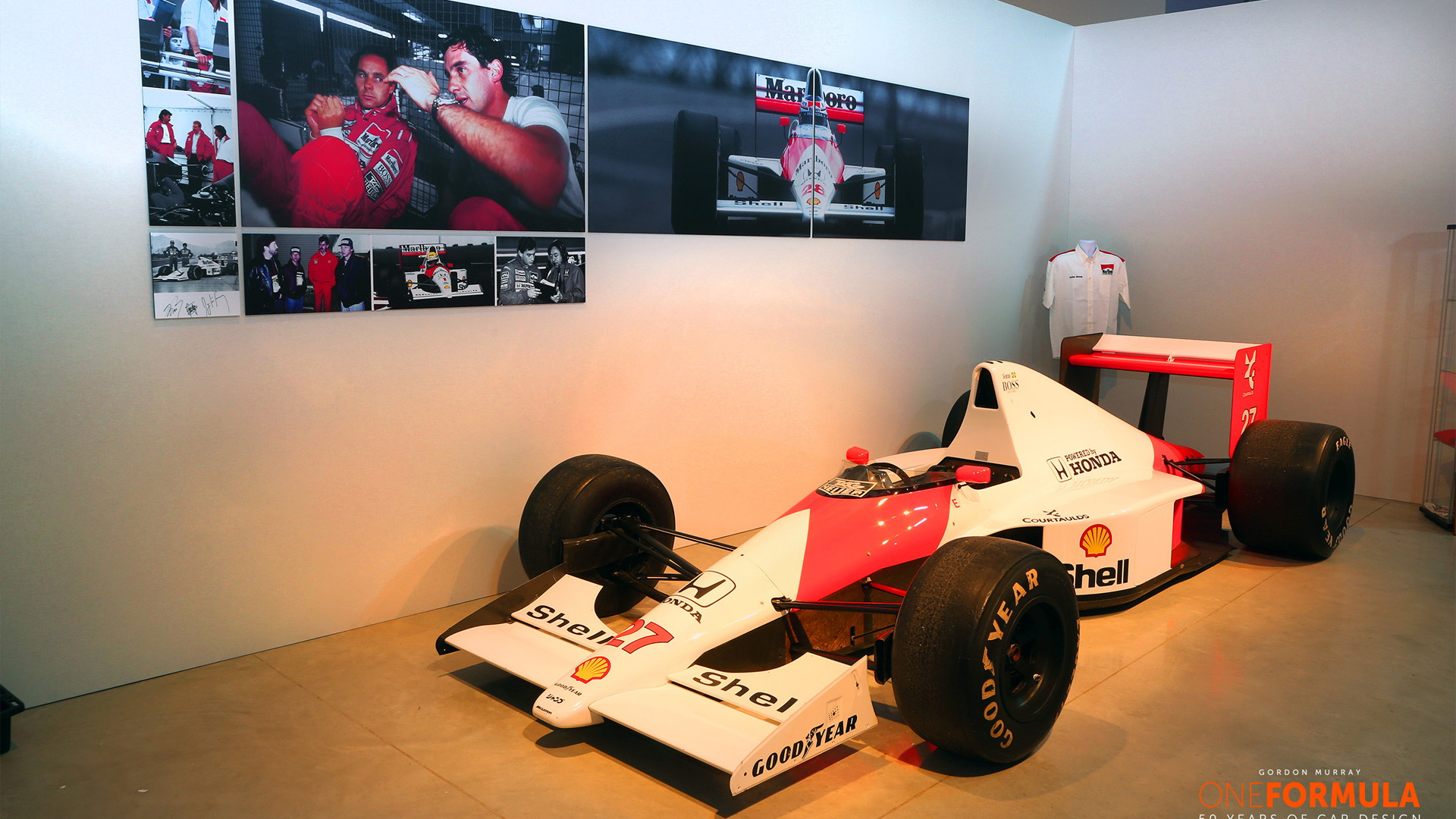 1988 McLaren MP4/4 Formula One race car