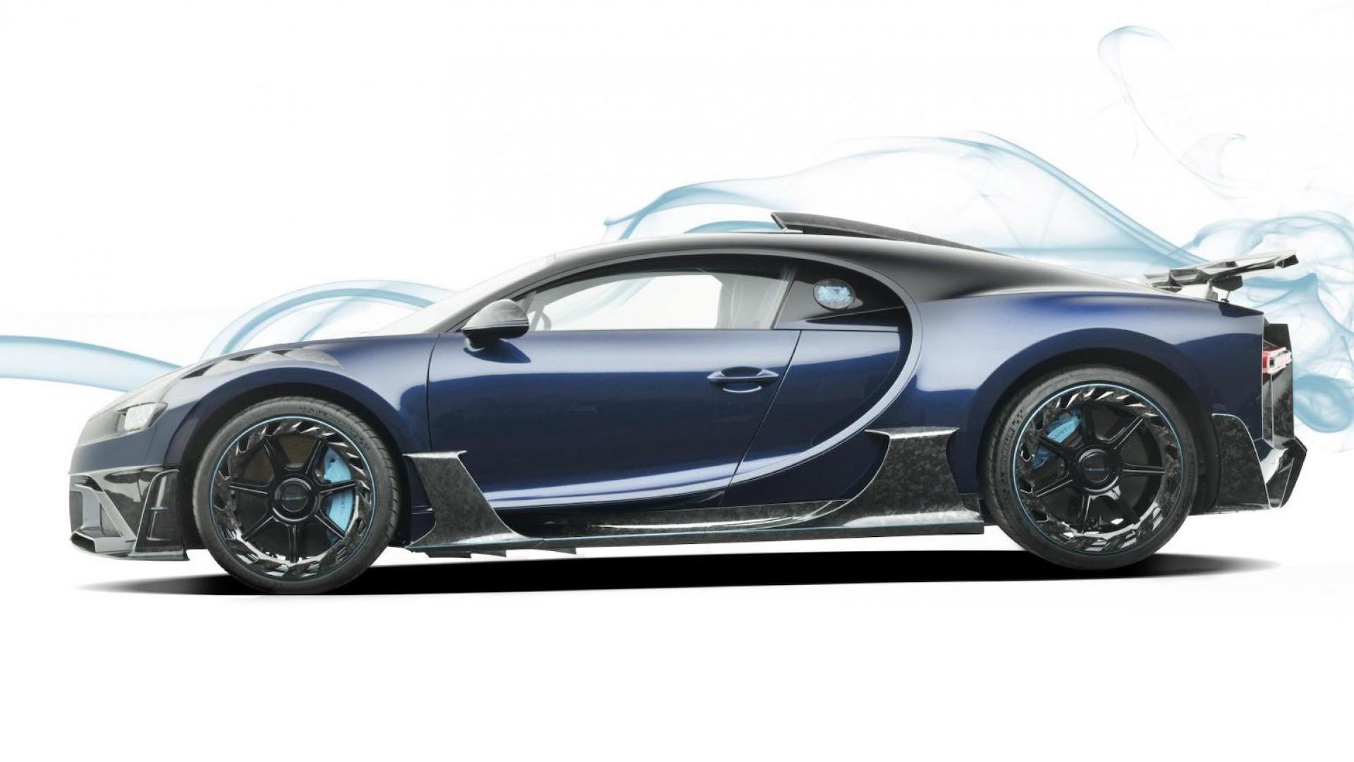 Bugatti Chiron by Mansory