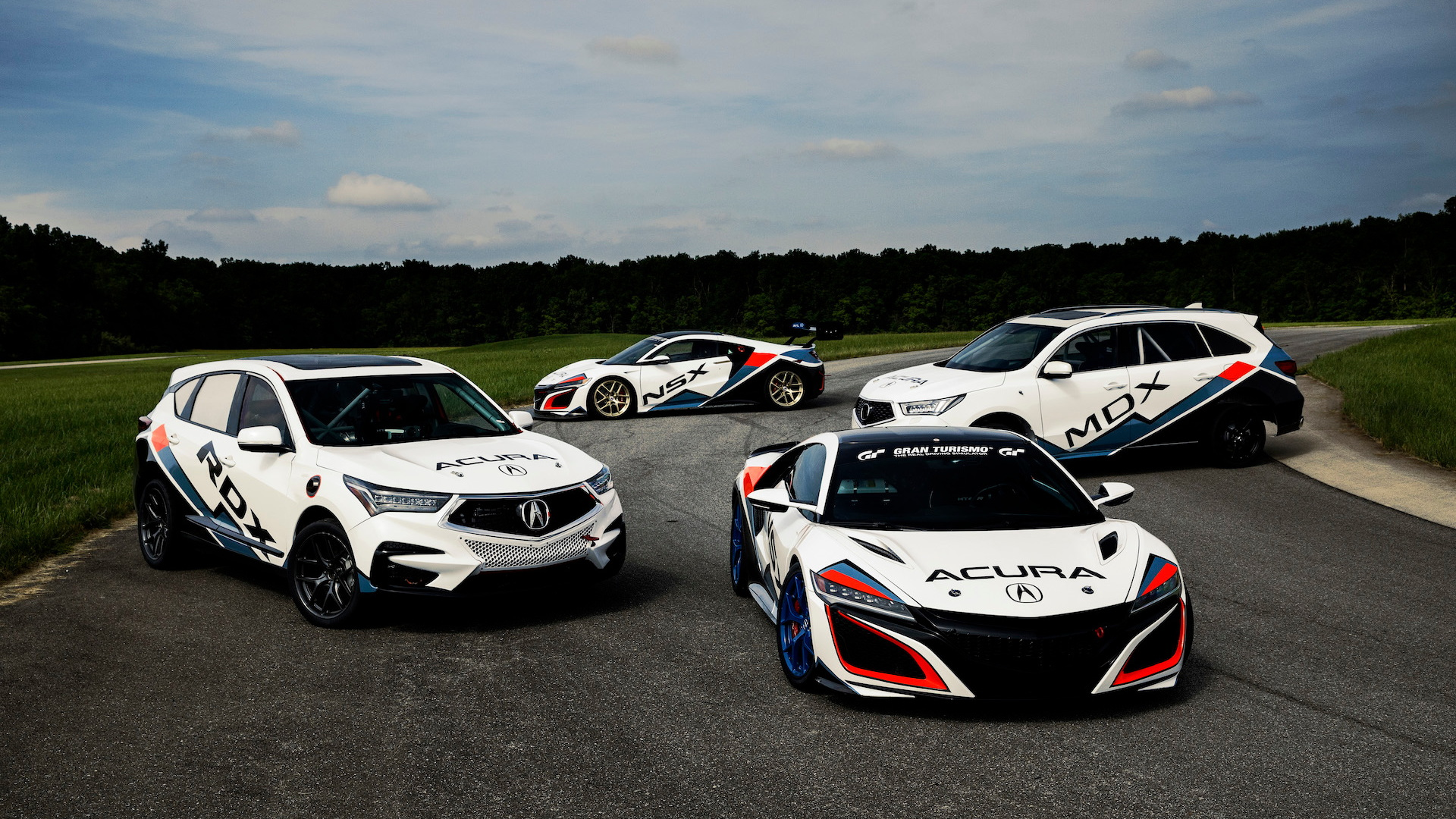 Acura Pikes Peak Hill Climb race cars