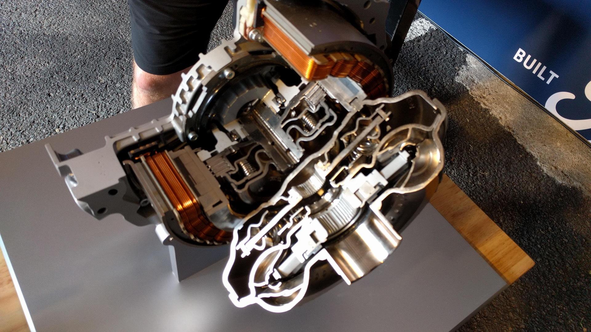 Ford modular hybrid system details
