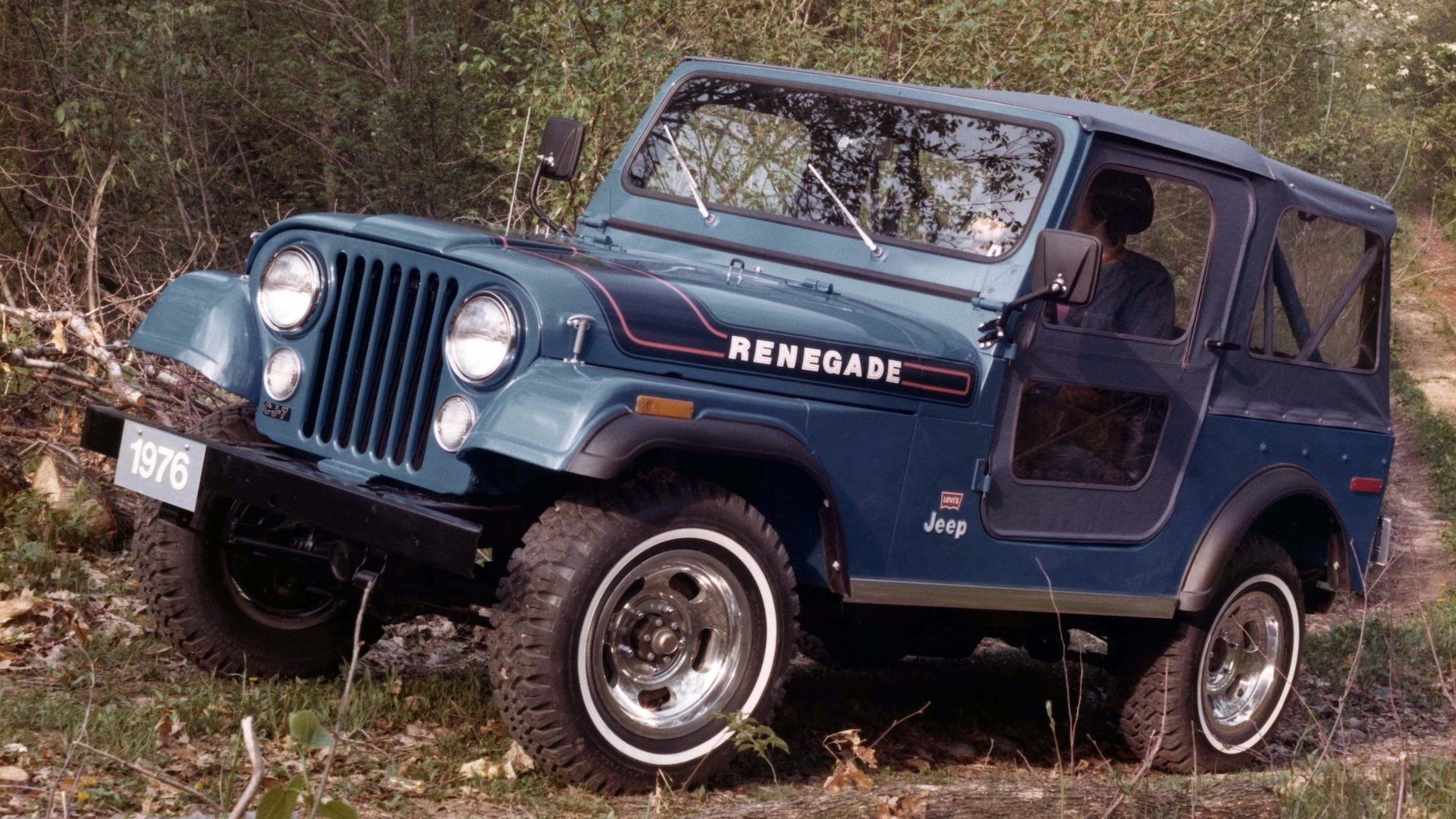 1976 Jeep CJ-7 Renegade Levi's Package
