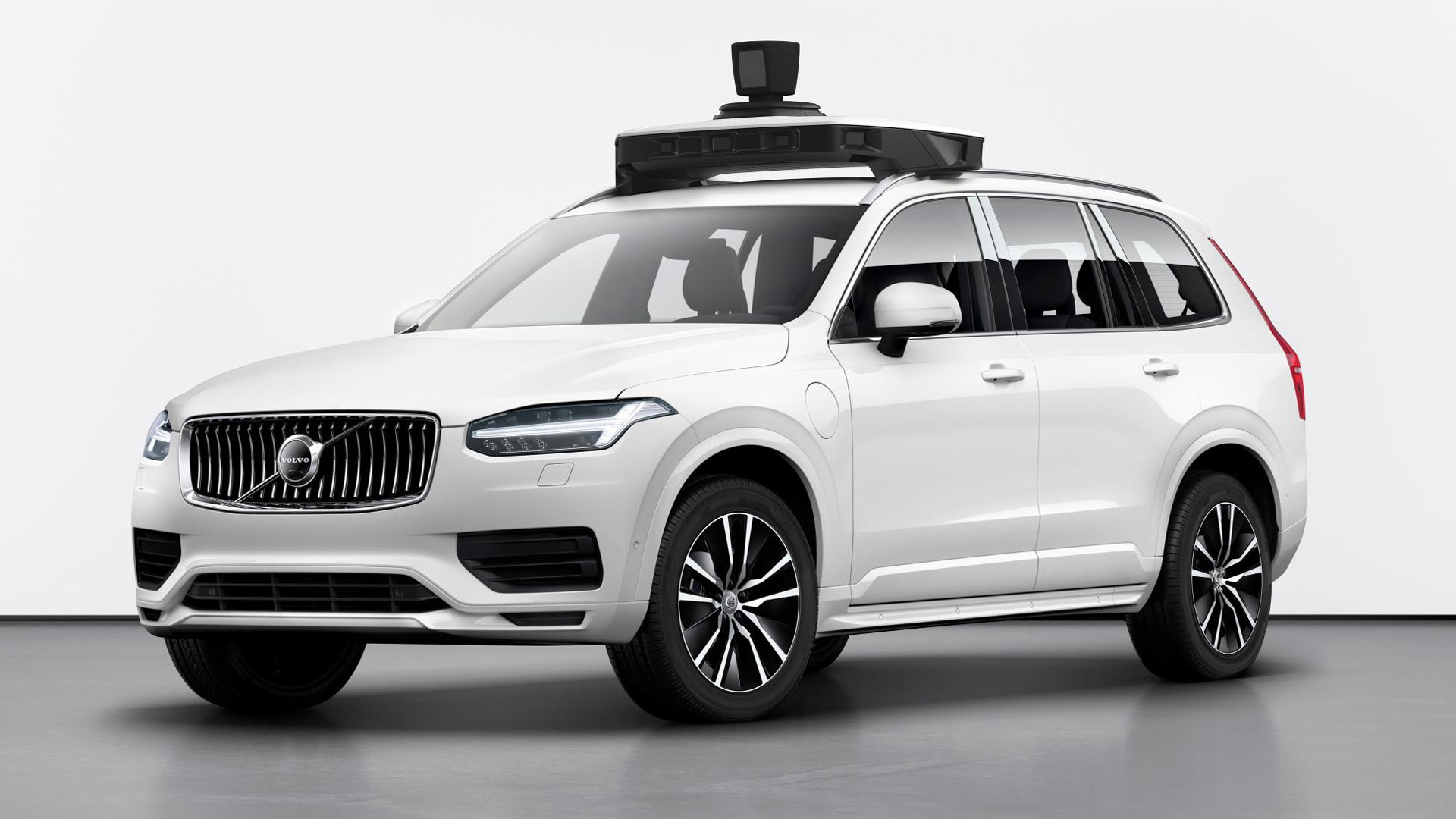 Volvo XC90 self-driving car prototype
