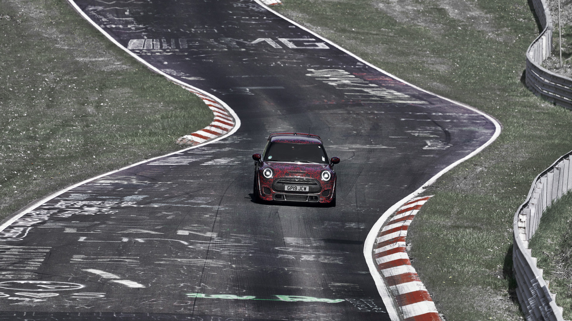2021 Mini John Cooper Works GP prototype at the  Nürburgring